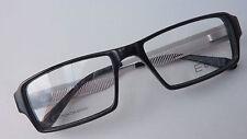 Brillengestell Herren schwarz markant, Markenbrille Designbügel stylish Gr. M