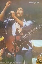 "BOB MARLEY ""SINGING WITH GUITAR & HAND UP"" POSTER FROM ASIA - Reggae Music"