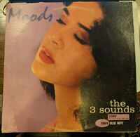 3 Sounds LP - Moods - Blue Note BST 84044 RVG Ear 47 West 63rd