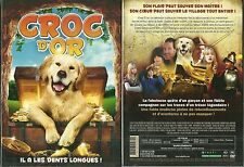 DVD - CROC D' OR ( CHIEN ) avec BILLY ZANE / NEUF EMBALLE - NEW & SEALED