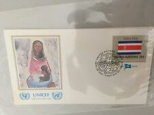 "UNICEF-FDC ""Flag series/Costa Rica"" 25.9.1981"