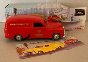 """Mint & Boxed  Holden FJ """"Woolworthsi"""" MM004. Scale 1:25"""