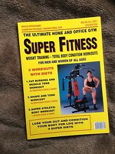 SUPER FITNESS Rocco Oppedisano Weight Training Body Workouts 4th Edition VGC