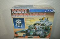 ANCIEN ROBOT ARM MACHINE BANDAI TELEGUIDE VINTAGE 1986