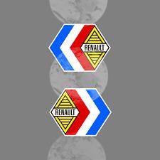 ALPINE RENAULT COMPETITION X2 DECAL STICKER  AUTOCOLLANT STICKERS VINTAGE
