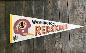 1967 Washington Redskins Pennant - Vintage Washington Redskins Football Pennant