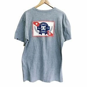 DC Shoes Quality Goods Pabst Blue Ribbon Beer T-Shirt Mens Large