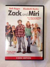 Zack and Miri Make a Porno DVD, 2009, 2-Disc Set