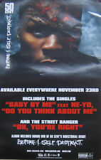 50 CENT POSTER, BEFORE SELF-DESTRUCT (A25)