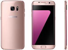 Samsung Galaxy S7 edge SM-G935FD Dual Sim 32GB Pink Gold 9/10 Unlocked