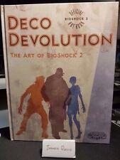 Deco Devolution The Art of Bioshock 2 hardcover artbook A4 size collectors