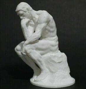 "Rodin's ""The Thinker"" Statue 3D Printed Replica Sculpture Art"