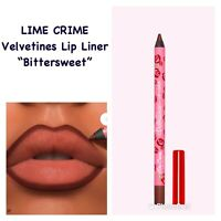 LIME CRIME Velvetines Bittersweet Lip Liner .04oz. (dark Chocolate) NEW IN BOX!