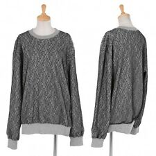 (SALE) robe COMME des GARCONS Lace Layered Sweat Size About  M(K-26787)