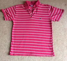 Lacoste Cotton Polo Striped Tops & Shirts for Women