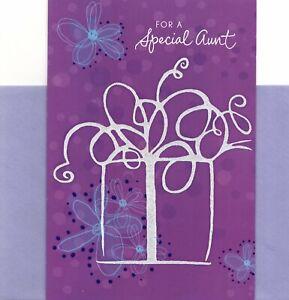 Happy Birthday Special Aunt Always Giving & Encouraging Good Humor Hallmark Card
