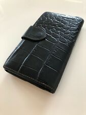 Beautiful Mulberry Vintage Black Nile Leather  Purse / Wallet