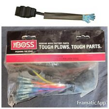 BOSS SNOW PLOW GENUINE VEHICLE SIDE 11-PIN Pigtail REPAIR WIRE HARNESS MSC03752