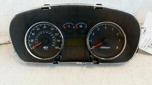 2007 2008 Hyundai Tiburon 2.7L AT Automatic Speedometer Instrument Gauge Cluster