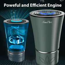 Mini Car Air Purifiers True Air Filters Usb Air Cleaners for Car Bedroom Office