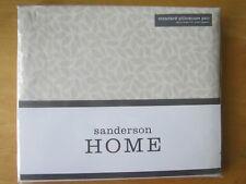 SANDERSON Standard Pillowcase PAIR New FLORAL BAZAAR RASPBERRY