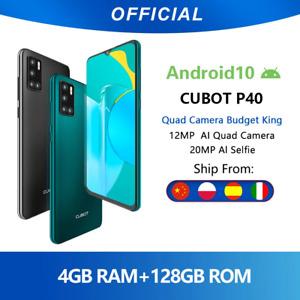 ORIGINAL Cubot P40 Rear Quad Camera 20MP Selfie Smartphone NFC 4GB+128GB