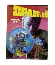 1975 Vintage Space 1999 Activity Coloring Book Unused
