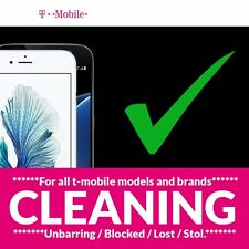 24hr CLEANING SERVICE For USA T-Mobile IMEIESN CLEAN iPhone,Samsung, LG, HTC Etc