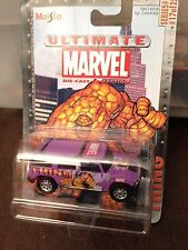 ULTIMATE MARVEL METAL DIECAST THING HUMMER H2 1:64 RARE SERIES #1