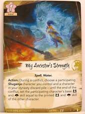 Legend of the Five Rings LCG - 1x #077 My Ancestor's Strenght - The Ebb and Flow
