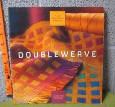 DOUBLEWEAVE rare book Jennifer Moore hand-weaving 2010 Weaver's Studio handloom