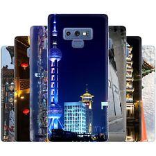 dessana China Metropole TPU Silikon Schutz Hülle Case Handy für Samsung Galaxy