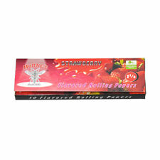 NEW - PACK OF 50 HORNET - (STRAWBERRY FLAVOURED) ROLLING PAPERS - 1 1/4""