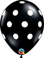Qualatex De Lunares globos de látex para Fiesta ( Helio O Aire)