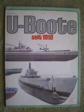 U-Boote seit 1919 - Geschichte Unterwasserboote Seehund Meteorite HMS Waffen