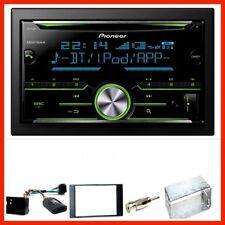 Pioneer FH-X730BT USB Bluetooth Einbauset für Ford Focus C-Max Fiesta Transit