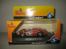 FORD MK IV 1967 SCALA 1:43 SOLIDO RACING REF.1912