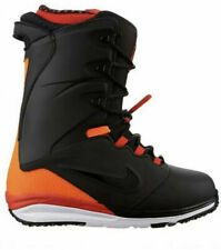 Nike SB Lunarendor QS Snowboard Boot Black Orange Infrared 586532-066 Sz 8.5