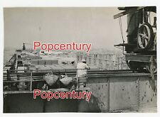 WW2 China Photograph 1944 CBI Assam India Burma Ledo Road Base Construction View