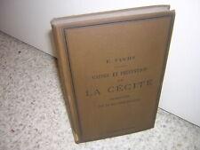 1885.causes et prévention de la cécité / Ernst Fuchs.envoi Fieuzal.ophtalmologie