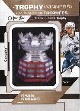 18/19 O-Pee-Chee Frank J. Selke Trophy Winners Patch #17 Ryan Kesler Canucks