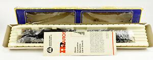 AHM/RIVAROSSI HO SCALE 5061-C PERE MARQUETTE 2-8-4 STEAM ENGINE & TENDER #1222
