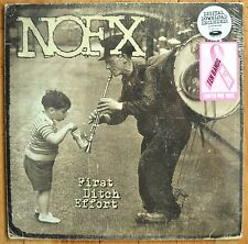 NOFX First Ditch Effort PINK Vinyl LP  New Sealed
