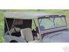 Military Jeep M38A1 Mil Spec OD Canvas Top 1 Day Handling!