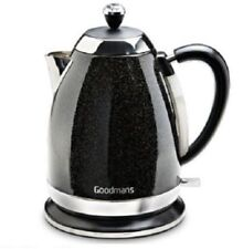 Brand New Goodmans Diamond Sparkle Kettle Black 1.8 Litre 3000W DIAMOND EDITION