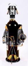 Wine Bottle Holder, Photographer, Metal Art #655834