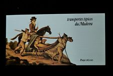 MADIRA 1984 TRANSPORT  STAMP BOOKLET MNH