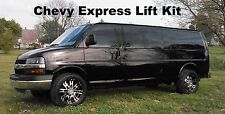 Chevy Express Lift Kit Van Leveling Front GMC Savana 2003-2018 2wd Chevrolet