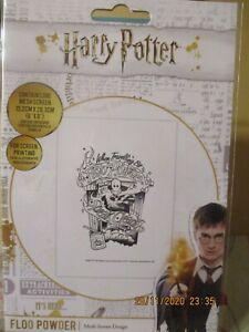 Harry Potter Floo Powder Mesh Screen Design