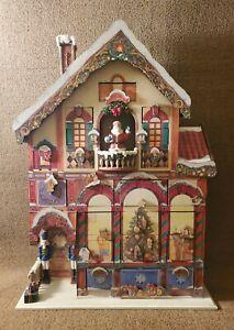 Costco Christmas Advent Calendar 24 Doors Wooden Victorian House | 663167 | RARE